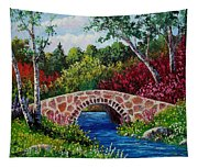 The Little Stone Bridge Tapestry