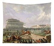 The Liverpool And National Steeplechase At Aintree Tapestry