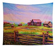 The Log Fence Tapestry
