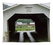 The Longley Covered Bridge Tapestry