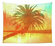 The Loop Palm Textured Tapestry