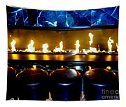 The Lounge Fireplace Tapestry
