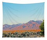The Magic Light Of Taos  Tapestry