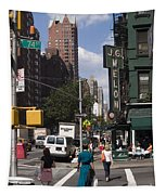 The Manhattan Sophisticate Tapestry