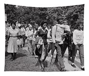 The March On Washington  Freedom Walkers Tapestry