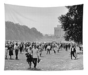 The March On Washington  Heading Home Tapestry