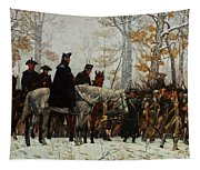 The March To Valley Forge, Dec 19, 1777 Tapestry