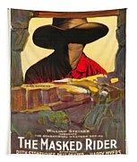 The Masked Rider 1919 Tapestry