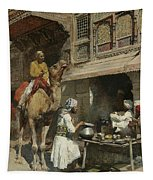 The Metalsmith's Shop  Tapestry