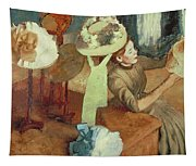 The Millinery Shop Tapestry