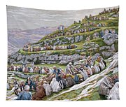 The Miracle Of The Loaves And Fishes Tapestry