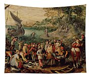 The Miraculous Draught Of Fishes Tapestry