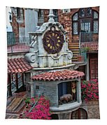 The Mission Inn Clock Tower Tapestry