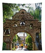The Mission Inn Entrance Tapestry
