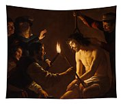 The Mocking Of Christ Tapestry
