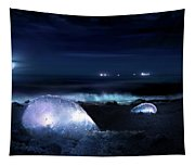 The Moon Warriors Tapestry