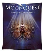 The Moonquest Book Cover Tapestry