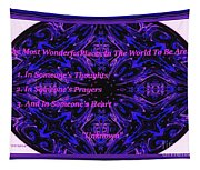 The Most Wonderful Places Tapestry