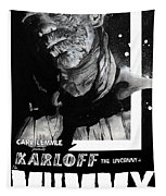 The Mummy 1932 Movie Poster  Tapestry