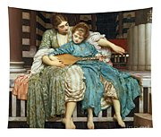 The Music Lesson Tapestry