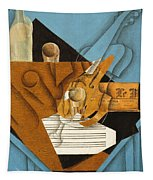 The Musician's Table Tapestry