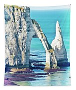 The Needle Of Etretat Tapestry