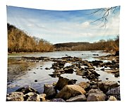 The New River At Whitt Riverbend Park - Giles County Virginia Tapestry