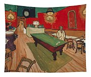 The Night Cafe In Arles Tapestry