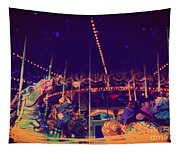 The Nightmare Carousel 22 Tapestry