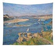 The Nile Near Aswan Tapestry