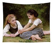 The Nut Gatherers Tapestry