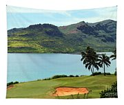 The Ocean Course At Hokuala In Kauai Tapestry