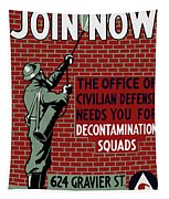 The Office Of Civilian Defense Needs You - Wpa Tapestry
