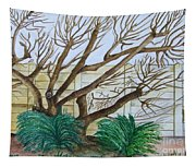 The Old Apricot Tree Tapestry
