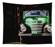 The Old Beer Truck Tapestry