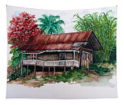 The Old Cocoa House  Tapestry
