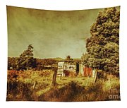 The Old Hay Barn Tapestry