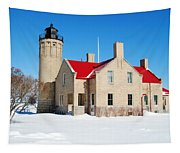 The Old Mackinac Point Lighthouse Tapestry