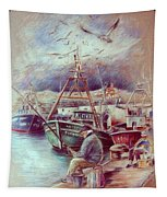 The Old Man And The Sea 02 Tapestry