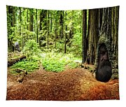 The Old Man In The Forest Tapestry