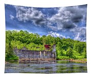 The Old Mckeever Pulp Mill Tapestry