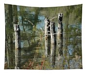The Old Swimming Hole Tapestry