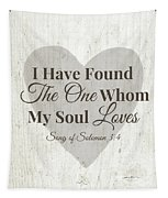 The One Whom My Sould Loves- Art By Linda Woods Tapestry