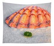 The Orange Scallop Tapestry