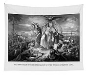 The Outbreak Of The Rebellion In The United States Tapestry