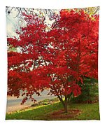 The Painted Leaves Tapestry