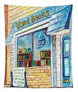 The Paperbacks Plus Book Store St Paul Minnesota Tapestry