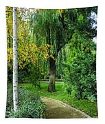 The Park Federico Garcia Lorca Is Situated In The City Of Granada, In Spain. Tapestry