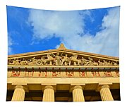 The Parthenon In Nashville Tennessee 2 Tapestry