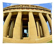 The Parthenon In Nashville Tennessee 3 Tapestry